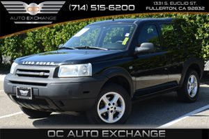 2003 Land Rover Freelander S Carfax 1-Owner Air Conditioning  AC Audio  AmFm Stereo Audio