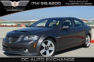 2009 Pontiac G8 GT Carfax 1-Owner Air Conditioning  Climate Control Air Conditioning  Multi-Zo