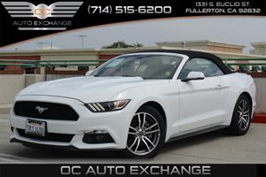 2015 Ford Mustang EcoBoost Premium Carfax 1-Owner - No Accidents  Damage Reported to CARFAX Air