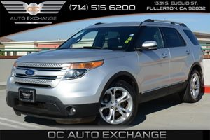 2013 Ford Explorer Limited Carfax 1-Owner - No Accidents  Damage Reported to CARFAX Air Conditio