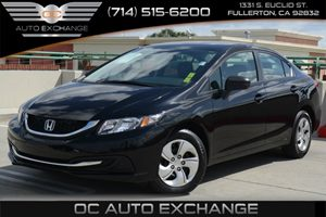 2015 Honda Civic Sedan LX Carfax 1-Owner - No Accidents  Damage Reported to CARFAX Air Condition