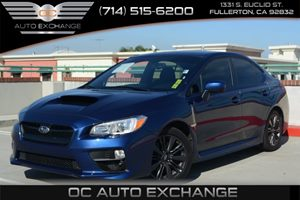 2015 Subaru WRX  Carfax 1-Owner Air Conditioning  AC Air Conditioning  Climate Control Audio