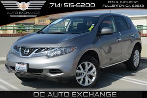 2012 Nissan Murano S Carfax 1-Owner - No Accidents  Damage Reported to CARFAX Air Conditioning