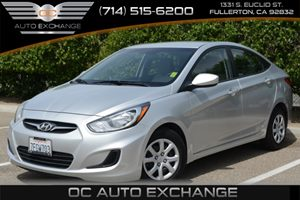2014 Hyundai Accent GLS Carfax 1-Owner Air Conditioning  AC Audio  AmFm Stereo Audio  Auxi