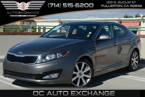 2013 Kia Optima SX Carfax 1-Owner Air Conditioning  Climate Control Air Conditioning  Multi-Zo