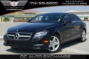 2013 MERCEDES CLS550 Coupe Carfax 1-Owner Air Conditioning  Climate Control Air Conditioning