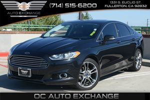 2014 Ford Fusion Titanium Carfax 1-Owner Air Conditioning  Climate Control Air Conditioning  M