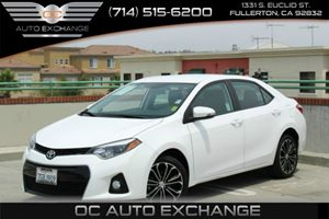 2014 Toyota Corolla S Carfax Report - No Accidents  Damage Reported to CARFAX Air Conditioning