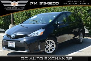 2015 Toyota Prius v Two Carfax 1-Owner Air Conditioning  AC Audio  Auxiliary Audio Input Aud