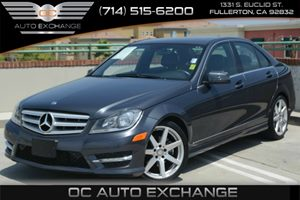 2013 MERCEDES C250 Luxury Sedan Carfax Report Air Conditioning  Climate Control Air Conditionin