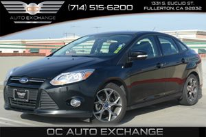 2014 Ford Focus SE Carfax 1-Owner Air Conditioning  AC Audio  Mp3 Player Convenience  Autom