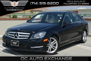 2014 MERCEDES C250 Luxury Sedan Carfax 1-Owner Air Conditioning  Climate Control Air Conditioni