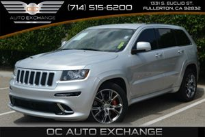 2012 Jeep Grand Cherokee SRT8 Carfax Report Air Conditioning  Multi-Zone AC Audio  Auxiliary