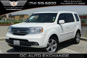 2014 Honda Pilot EX-L Carfax 1-Owner Air Conditioning  Multi-Zone AC Air Conditioning  Rear A