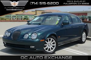 2002 Jaguar S-TYPE wSport Carfax 1-Owner - No Accidents  Damage Reported to CARFAX Air Conditio