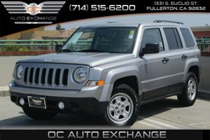 2015 Jeep Patriot Sport Carfax 1-Owner - No Accidents  Damage Reported to CARFAX Audio  AmFm S