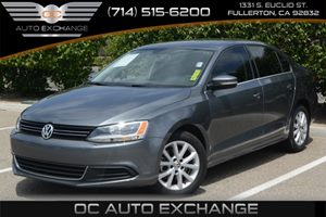 2013 Volkswagen Jetta Sedan SE wConvenience Carfax 1-Owner Air Conditioning  AC Audio  Auxil