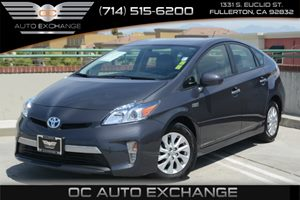 2014 Toyota Prius Plug-In  Carfax 1-Owner Air Conditioning  AC Audio  Auxiliary Audio Input