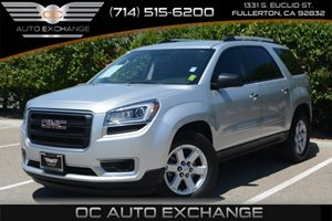 2014 GMC Acadia SLE Carfax 1-Owner Air Conditioning  AC Air Conditioning  Rear AC Audio  A