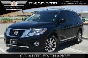 2014 Nissan Pathfinder SL Carfax 1-Owner Air Conditioning  Multi-Zone AC Air Conditioning  Re