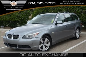 2007 BMW 5 Series 530xiT Carfax Report - No Accidents  Damage Reported to CARFAX Air Conditionin