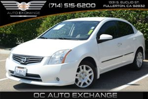 2011 Nissan Sentra 20 S Carfax 1-Owner - No Accidents  Damage Reported to CARFAX Air Conditioni