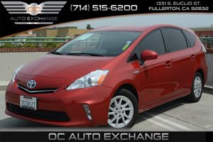 2014 Toyota Prius v Five Carfax 1-Owner Air Conditioning  AC Air Conditioning  Climate Contro