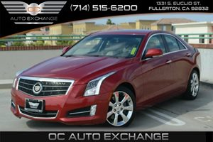 2013 Cadillac ATS Performance Carfax 1-Owner - No Accidents  Damage Reported to CARFAX Air Condi