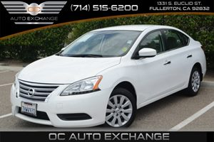 2014 Nissan Sentra S Carfax 1-Owner Air Conditioning  AC Audio  AmFm Stereo Audio  Cd Play