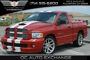 2004 Dodge Ram SRT-10 SRT-10 Carfax Report - No Accidents  Damage Reported to CARFAX Air Conditi