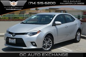 2014 Toyota Corolla LE Plus Carfax 1-Owner Air Conditioning  AC Air Conditioning  Climate Con