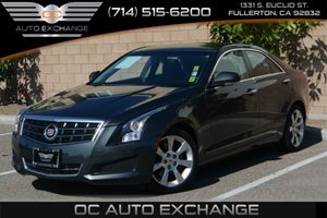 2014 Cadillac ATS Luxury RWD Carfax 1-Owner - No Accidents  Damage Reported to CARFAX Air Condit