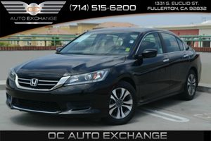 2013 Honda Accord Sdn LX Carfax 1-Owner Air Conditioning  AC Air Conditioning  Multi-Zone AC