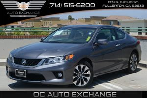 2013 Honda Accord Cpe EX-L Carfax 1-Owner Air Conditioning  Climate Control Air Conditioning
