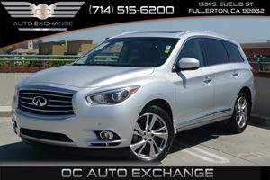 2013 Infiniti JX35  Carfax Report Air Conditioning  Climate Control Air Conditioning  Multi-Zo