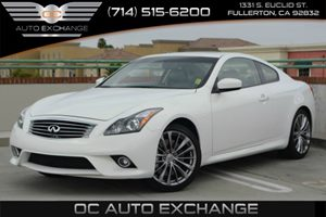2014 Infiniti Q60 Coupe Journey Carfax 1-Owner - No Accidents  Damage Reported to CARFAX Air Con