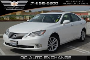 2012 Lexus ES 350  Carfax Report  White 26791 Per Month - On Approved Credit--See our ent