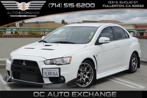 2015 Mitsubishi Lancer Evolution MR Carfax 1-Owner - No Accidents  Damage Reported to CARFAX Air
