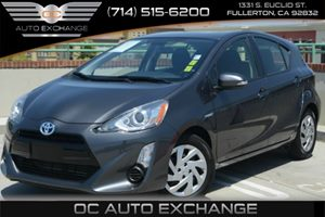 2015 Toyota Prius c Two Carfax Report Air Conditioning  AC Audio  AmFm Stereo Audio  Mp3 P
