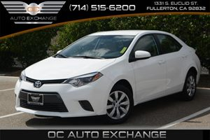 2016 Toyota Corolla LE Carfax 1-Owner - No Accidents  Damage Reported to CARFAX Air Conditioning