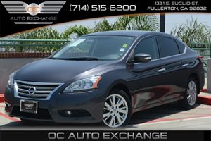 2013 Nissan Sentra SL Carfax 1-Owner - No Accidents  Damage Reported to CARFAX Air Conditioning