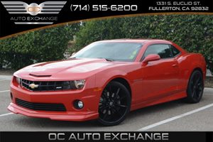 2010 Chevrolet Camaro 2SS Carfax 1-Owner Air Conditioning  AC Audio  Auxiliary Audio Input A