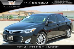 2013 Toyota Avalon XLE Carfax 1-Owner - No Accidents  Damage Reported to CARFAX Air Conditioning