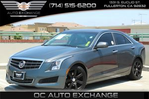 2013 Cadillac ATS  Carfax 1-Owner - No Accidents  Damage Reported to CARFAX Air Conditioning  C
