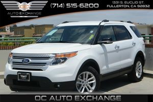 2015 Ford Explorer XLT Carfax 1-Owner Air Conditioning  AC Air Conditioning  Rear AC Audio