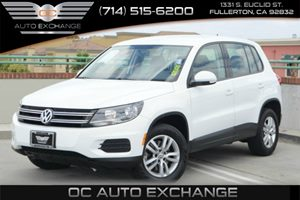 2014 Volkswagen Tiguan S Carfax 1-Owner Air Conditioning  AC Audio  Auxiliary Audio Input Au