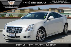 2013 Cadillac CTS Coupe Performance Carfax 1-Owner Air Conditioning  Multi-Zone AC Audio  Aux