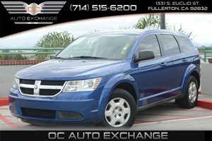 2009 Dodge Journey SE Carfax 1-Owner Air Conditioning  AC Audio  AmFm Stereo Audio  Cd Pla