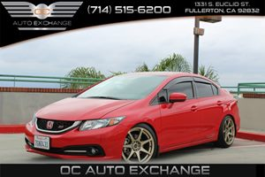 2014 Honda Civic Sedan Si Carfax 1-Owner Convenience  Back-Up Camera Convenience  Right Turn A