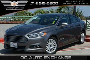 2013 Ford Fusion SE Hybrid Carfax 1-Owner Air Conditioning  Multi-Zone AC Air Conditioning  R